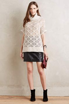 Honeycomb Cowl Pullover - #anthroregistry