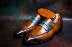 """""""50 Anniversary"""" is a super cool Patina for one of the most important collectors of Berluti shoes: Mr.S.N. #50 #bespoke #anniversary #berluti #super #luxury #bestshoes #patina #artistofinstagram #top #stupende #like4like #more #highlife #doubletap..."""