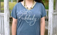 Feature on Head to Toe Chic! - North Cackalacky! Show your North Carolina (NC) Pride!