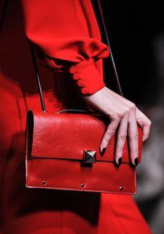 Valentino red purse