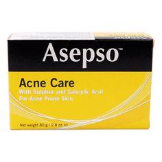 Asepso Acne Care Soap 2.8oz