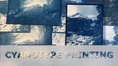 Cyanotype Printing Using A DIY Kit And Sunlight Cyanotype, Diy Kits, Sunlight, Printing Process, Prints, Fun, Pictures, Fin Fun, Photos