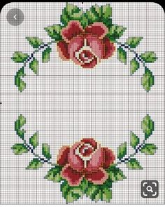Cross stitch flowers: 45 Models, Graphic and Step-by-step Cross stitch flowers: 45 Models, Graphic and Step-by-step <!-- Begin Yuzo --><!-- without result -->Related Post 'The Eagle' Art Print on Wrapped Canvas Ea. Cross Stitch Borders, Cross Stitch Rose, Cross Stitch Flowers, Cross Stitch Charts, Counted Cross Stitch Patterns, Cross Stitch Designs, Cross Stitching, Cross Stitch Embroidery, Hand Embroidery