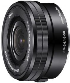 Sony 16 to 50mm pancake zoom for the Sony NEX System
