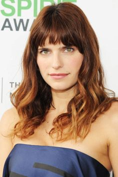 Those looking for a mid-length style should frame their faces with piece-y layers and short bangs �  la Lake Bell. But since this style can often look severe, it's best for those with soft rather than angular features.    - MarieClaire.com