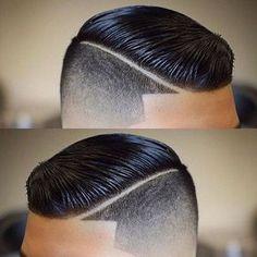 Fade Haircut Styles, Hair And Beard Styles, Curly Hair Styles, Mens Hairstyles With Beard, Hairstyles Haircuts, Hairstyle Men, Classic Mens Hairstyles, High And Tight Haircut, Gents Hair Style