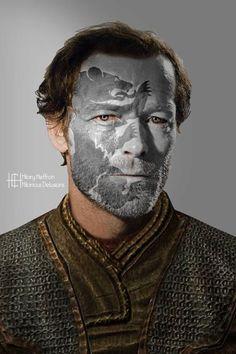 Jorah Mormont | Game of Thrones War Paint by Hilary Heffron - Hilarious Delusions