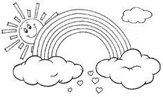Risultati immagini per disegni di arcobaleno da stampare Projects To Try, Symbols, Letters, Angelo, Terra, Camilla, App, Geography, Tatoo