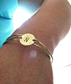 Gold Initial Bracelet, Initial Bangle, Bangle Bracelet, Gold Bangle, Gold Bracelet, Gold Bangle Bracelet, Engraved Bangle, Engraved Bracelet