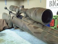 DIY Camouflage Rifle | 4 Ways to Make Camouflage at Home #SurvivalLife www.SurvivalLife.com