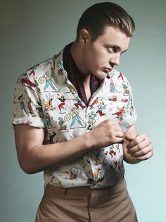 Michael Pitt for Prada Spring 2012