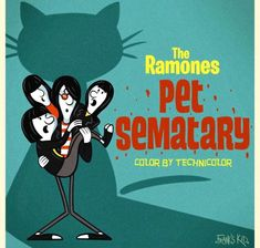 Joey Ramone, Ramones, Hey Ho Lets Go, All Horror Movies, Pet Sematary, Gabba Gabba, Punk Rock, Rock N Roll, Pets
