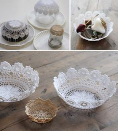 Crochet Lace Edging, Crochet Flowers, Crochet Bowl, Love Crochet, Doilies Crafts, Crochet Needles, Types Of Craft, Square Patterns, Bottle Cap Crafts