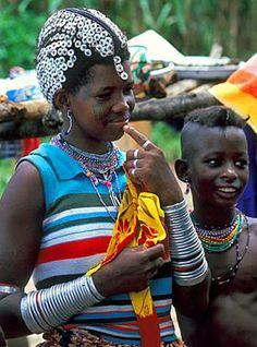 Africa    Fulani girl.    © deepchi1, via Flickr