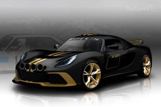 Lotus Exige R-GT FIA Rally Race Car