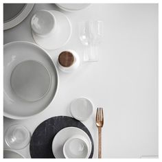 New Norm Dinner Plate - Smoke - Set of six - by Norm Architects for Menu