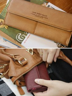lucid leather wallet.