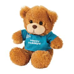Personalized Plush Winter Bear - OrientalTrading.com $9.99