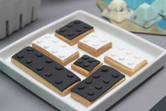 Lego inspired cookies: http://www.stylemepretty.com/living/2015/02/05/fruit-leather-fortune-cookies-for-the-kids/