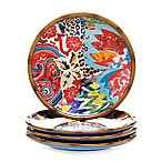 Tracy Porter® Poetic Wanderlust® Magpie Canapé Plates (Set of 4)