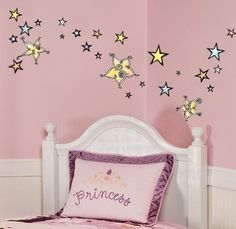 $12.99-$20.00 Baby Nursury Peel & Stick Wall Sticker Decals - Starry Night - Starry Night star graphics twinkle with warm watercolors and dreamy swirls. Use star stickers to create constellations on your ceiling or put them around windows and make a wish. However you feel inspired, these star wall stickers are easy to arrange and rearrange day and night. http://www.amazon.com/dp/B004LL9Q1S/?tag=pin2baby-20