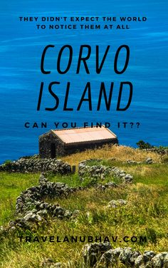 The one hiding island on the world map is Corvo Island, one of the Azores Islands. You cannot escape from its beauty. This time you travel to Portugal, don't forget to hop on to Azores Islands Can You Find It, Crater Lake, Azores, Portugal Travel, Travel Pictures, Don't Forget, Islands, Traveling By Yourself, Paradise