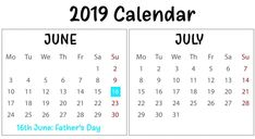 Check out Printable June July 2019 Calendar Monthly Templates, June And July 2019 Calendar PDF Word Excel Landscape Editable Blank Notes with Hoidays. June Calendar Printable, Blank Calendar Pages, June 2019 Calendar, Free Printable Calendar Templates, Excel Calendar Template, Holidays, Pdf, Notes, Vacations