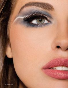 From our October Beauty Shoot. Bold Eyeshadow is a must this fall!