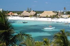 Lol Ha Restaurant in Akumal Mexico. Beautiful location and place of where I got married.
