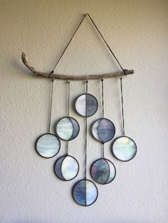 Dandelion Glass Art by Jessica Barto