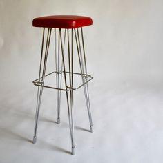 Hairpin stool, 1950s