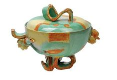 Vally Wieselthier, A punch bowl, designed in 1928, executed by the Wiener Werkstaette