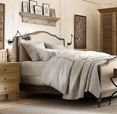 Restoration Hardware dream bedroom