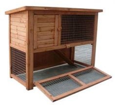 A rabbit hutch with room to run. Someone's birthday is coming up :)
