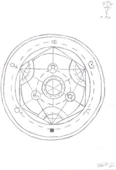186 best Transmutation Circle images on Pinterest in 2018