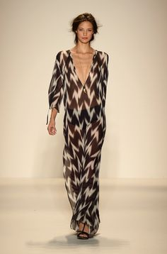 Rachel Zoe S/S 2014 Runway Show - Caftan Cover-up