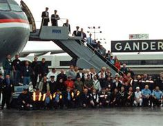 My hometown of Gander, Newfoundland on taking Americans. Gander has a population of people and they had about passengers to take care of from all the airplanes that were forced into Gander. So proud that this is my hometown! Newfoundland Canada, Newfoundland And Labrador, Come From Away, Delta Flight, Atlantic Canada, Canadian History, O Canada, We Are The World, September 11