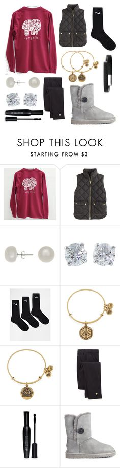 """Ivory Ella"" by abbey-yy on Polyvore featuring J.Crew, Jardin, Tiffany & Co., NIKE, Alex and Ani, Kate Spade, e.l.f., Jawbone, UGG Australia and women's clothing"