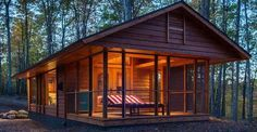 If You Think this is JUST Regular Tiny Log Cabin . . . You Will Want to Look Inside AND Underneath