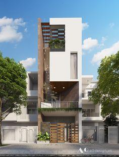 HN House Công trình nhà phố Quy mô 4 Tầng Diện Tích 5x20m Điạ điểm : Đà Nẵng