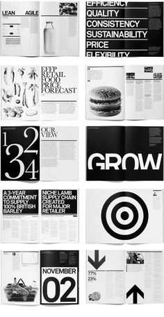 editorial layout From Paul Felton - Branding, Illustration, Layout Editorial Design Layouts, Graphic Design Layouts, Book Design Layout, Print Layout, Graphic Design Posters, Graphic Design Inspiration, Web Design, Magazine Design Inspiration, Typography Design Layout