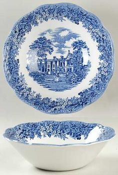 Indies blue china by johnson brothers blue and white - Johnson brothers vajilla ...