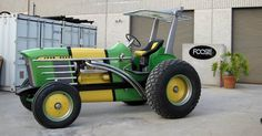 OMG my husband would LOVE this!!!!!!!! John Deere 4020 by Chip Foose