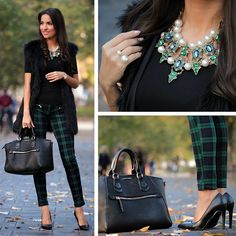 New look on the blog ✌️ {link in bio} #outfit #blogger #fashion #statement #necklace #zara #mango #brunette #autumn