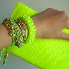 Neon Yellow Accessories ☻                                                                                                                                                                  ⇜•ṄεΦЙ❉€яᗛƶΣ•⇝