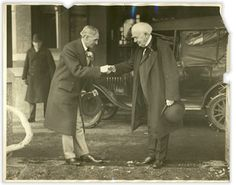 Henry Ford and Thomas Edison had side-by-side winter estates in Fort Myers, Florida