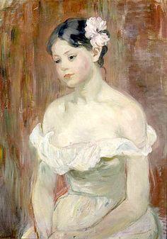 bofransson:    Marthe, La fleur aux cheveux - Berthe Morisot