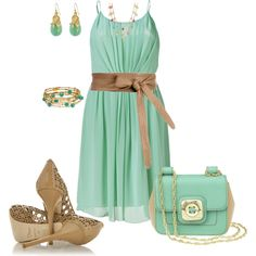 mint, created by johnna-cameron on Polyvore