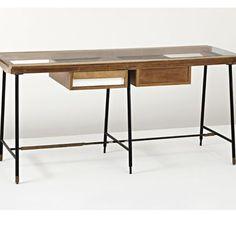 :: Unique Double-sided Desk, Ico Parisi, 1952 ::
