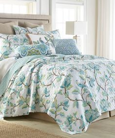 The Pillow Collection Pomona Floral Bedding Sham Sand Standard 20 X 26 Home Kitchen Bedding
